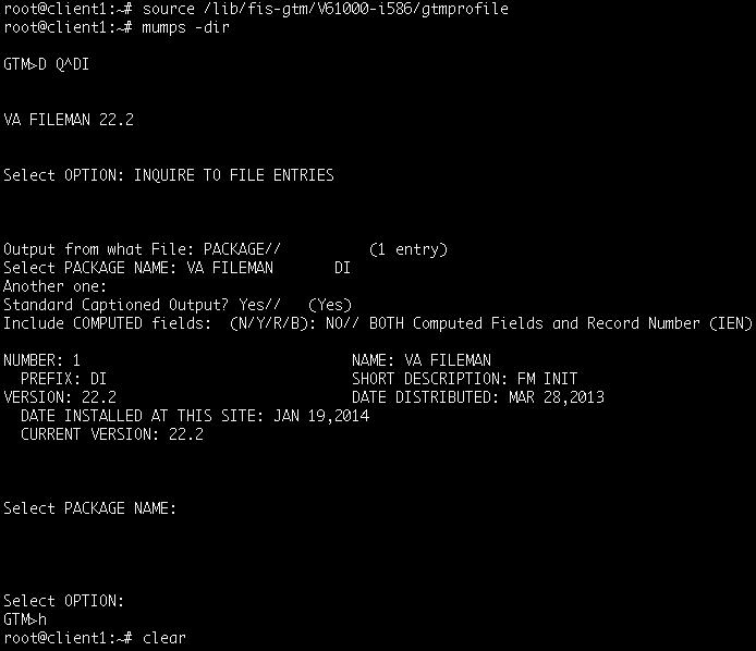 GT.M on an Intel Galileo